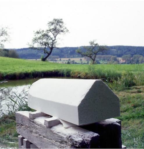 Wolfgang Laib, Rice House, 2002
