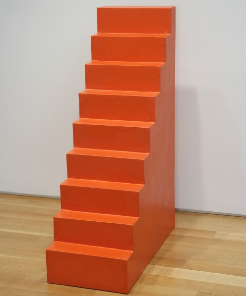 Wolfgang Laib, Untitled (Stairs), 2002