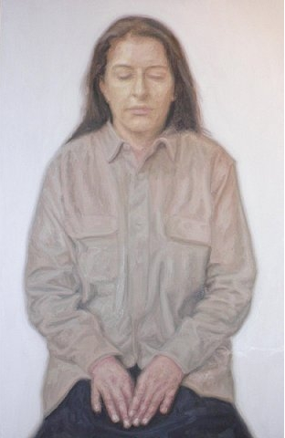 Y.Z. Kami, Untitled (Marina I), 2007, oil on canvas, 248.9 x 162.6 cm