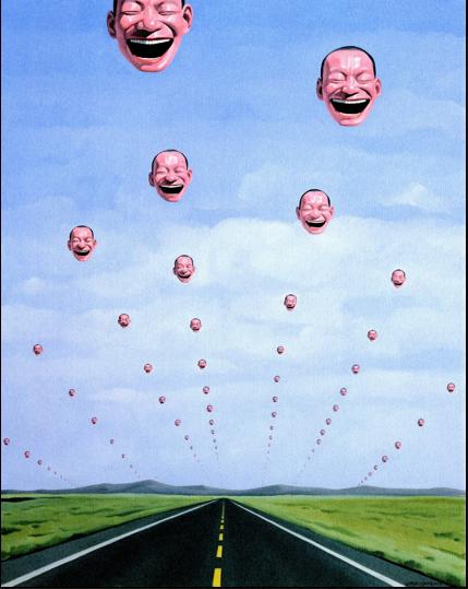 Yue Minjun, Untitled, 2005