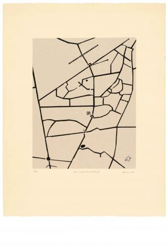 Zarina Hashmi, Cities I Called Home - Aligarh, Image dimension 40.6 x 31.8 cm