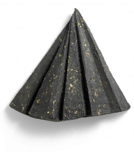 Zarina Hashmi, Night Fall, paper casting, 67.3 x 68.6 x 17.8 cm