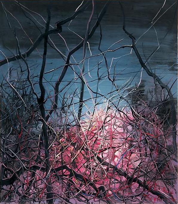 Zeng Fanzhi, Untitled 08-3-2, 2008, Oil on canvas, 120 x 105 cm