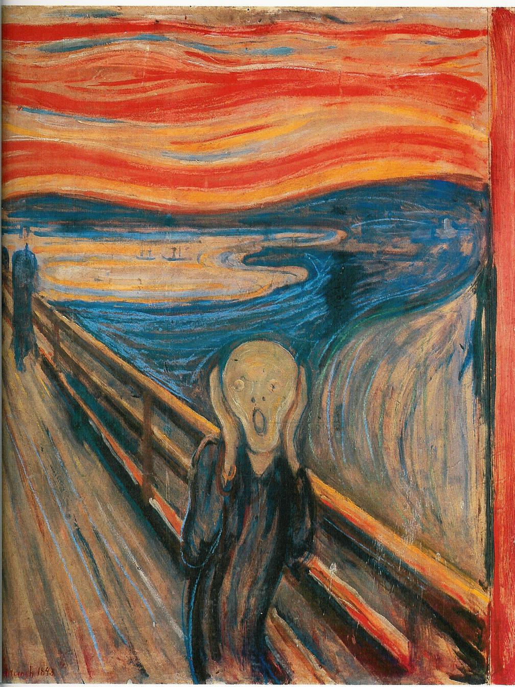 Edvard Munch – The Scream (1893)