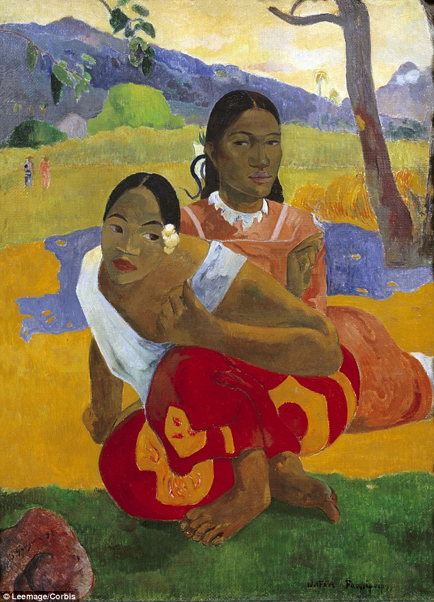 "Gauguin's ""Nafea Faa Ipoipo (When Will You Marry?),"" from 1892, was sold by a collector in Switzerland in a private transaction. Credit Artothek/Associated Press"