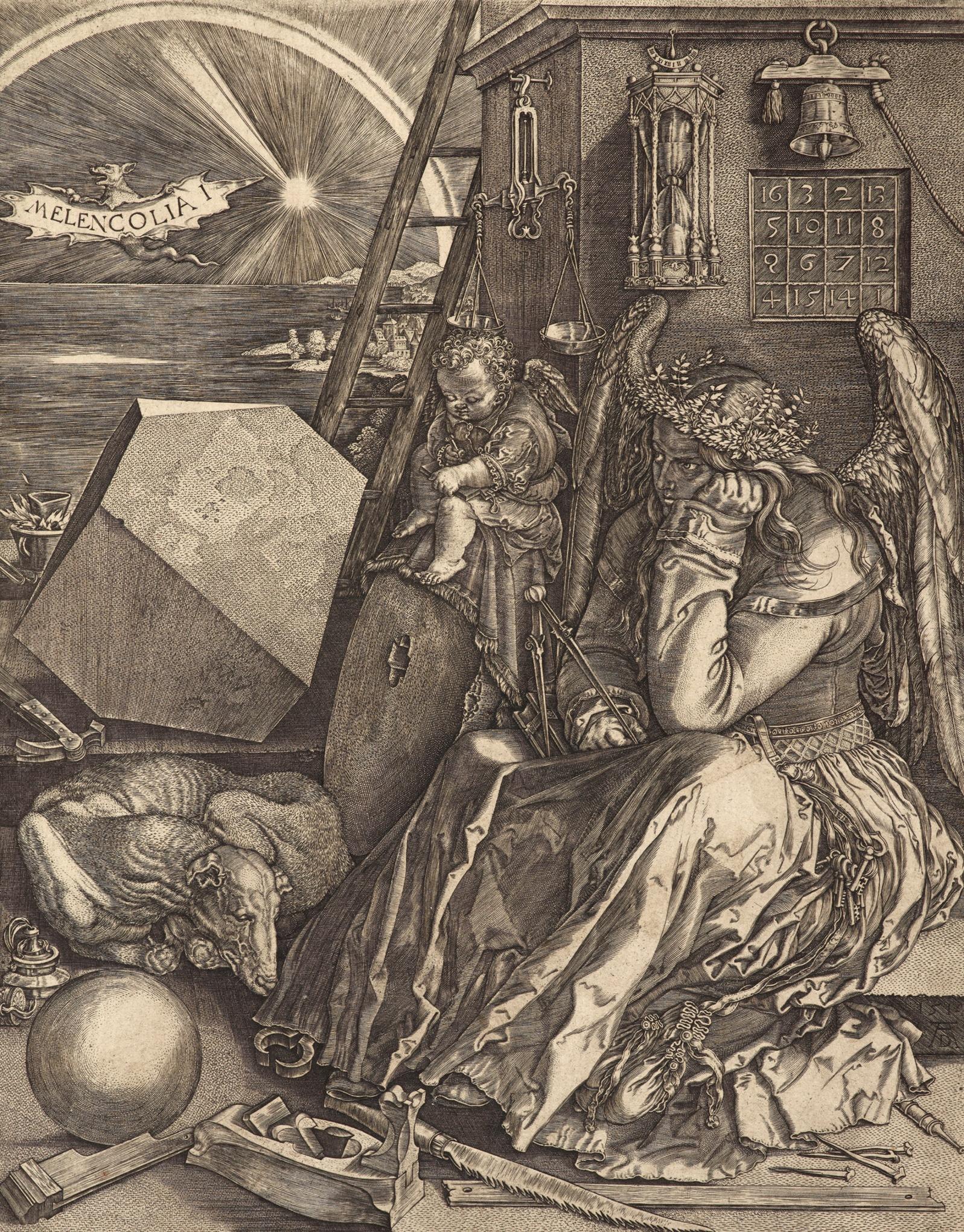 Albrecht Durer – Melancholia (1514)