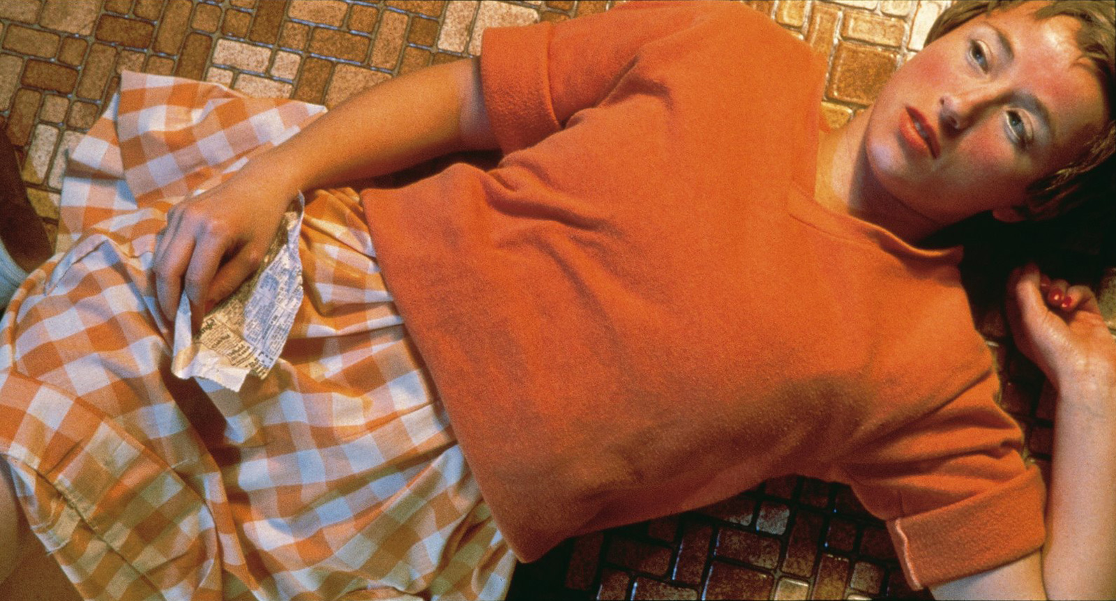 """Cindy Sherman's 1981 Photo """"Untitled #96″ sold for $3.89 million in May."""
