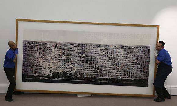 Andreas Gurskys monumentales Foto ''Paris Montparnasse'' / Bild: (c) REUTERS (STEFAN WERMUTH)