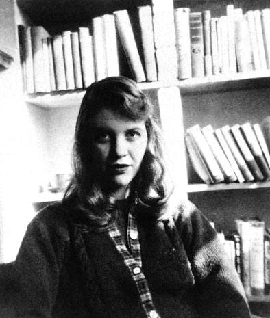 Sylvia Plath in 1957