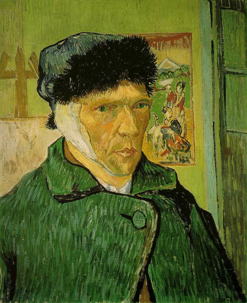Vincent van Gogh – Self-Portrait with Bandaged Ear (1889)