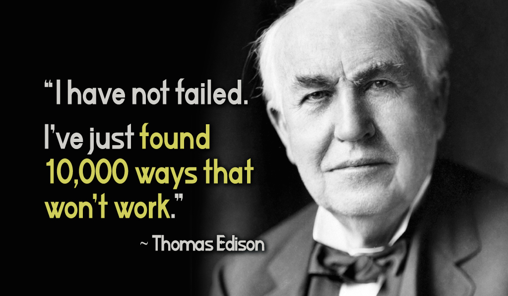 FactsQuotes And History Of Thomas Edison ArtSheep Beauteous Thomas Edison Quotes