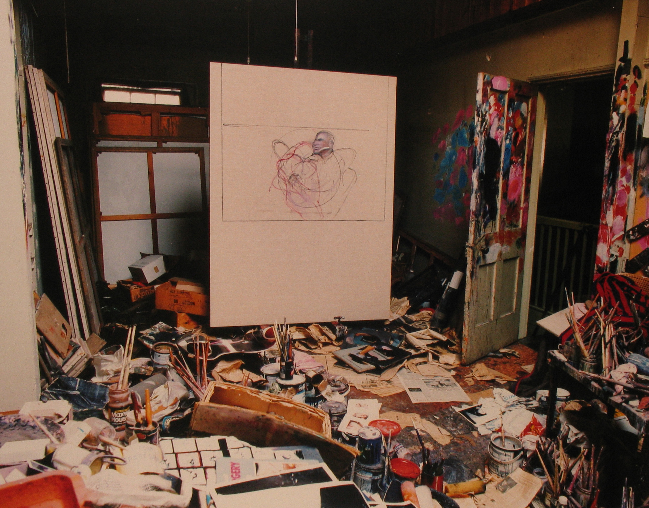 Francis Bacon, painter.