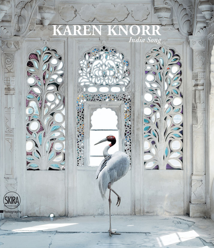Karen Knorr, A Place Like Amravati, Udaipur City Palace, Udaipur. On the cover of the book India Song © Skira Editore.