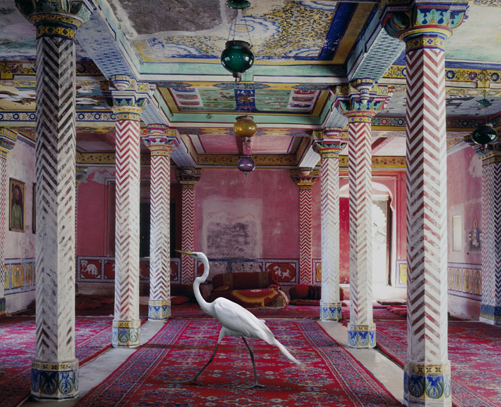 Karen Knorr, Flight to Freedom, Junha Mahal, Dungarpur. From the book India Song © Skira Editore. Courtesy of the artist.
