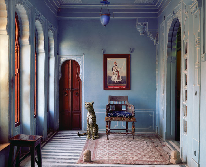 Karen Knorr, The Maharaja's Apartment, Udaipur City Palace, Udaipur. From the book India Song © Skira Editore. Courtesy of the artist.