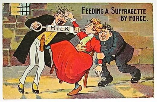 1900s posters against womens right to vote are
