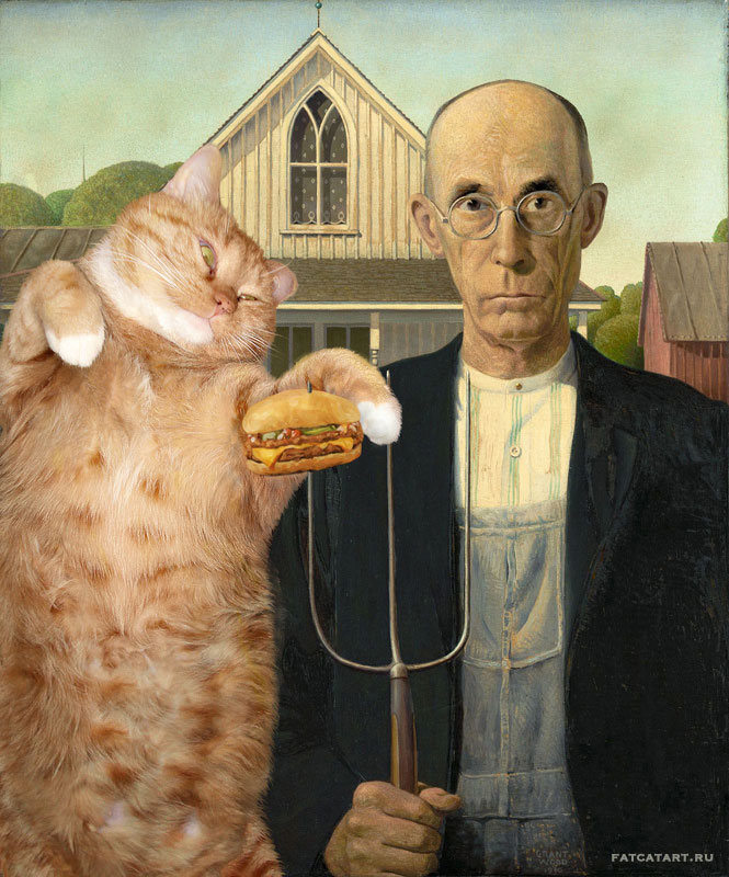 fat-cat-photoshopped-into-famous-artworks-13