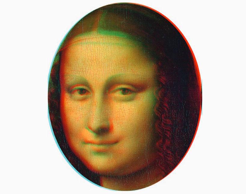 3-D Mona Lisa