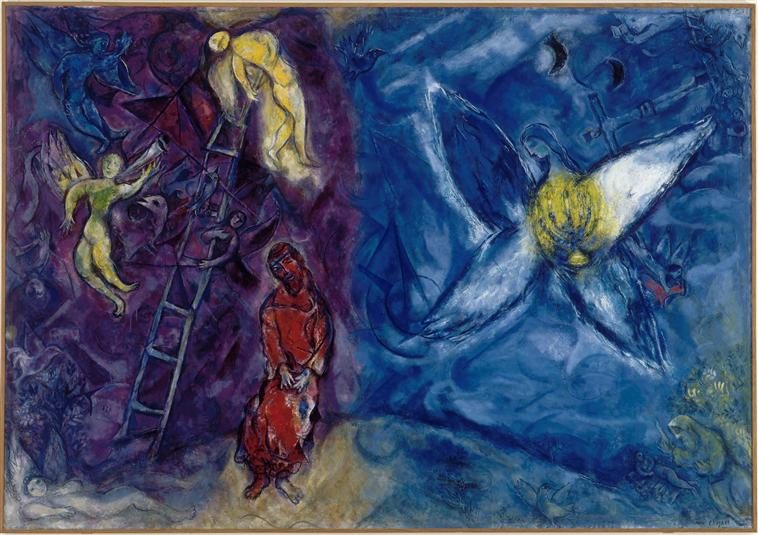 "Marc Chagall, ""The Jacob's Dream"", 1966."