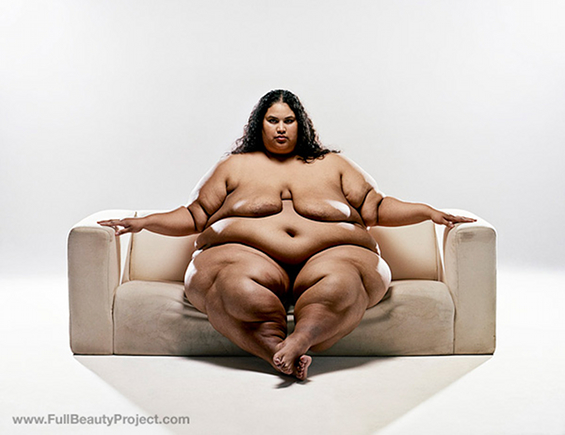 Nude picture of fattest woman