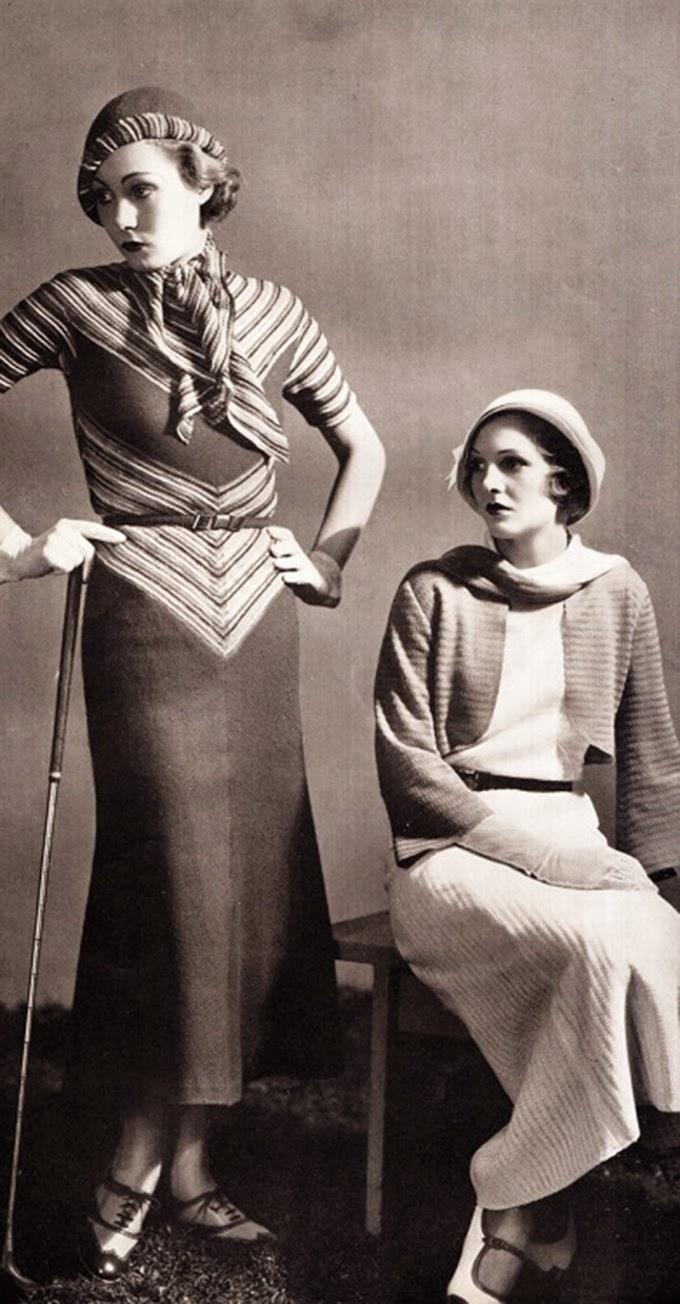 Maternity brassiere/girdle, by Spirella, 1933.   1930s