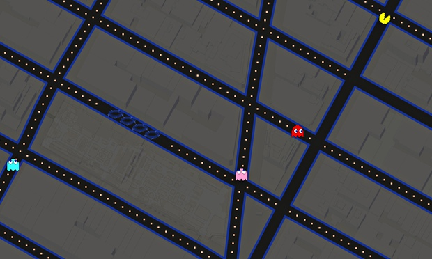 A maze-ing … Pac-Man comes to Google Maps
