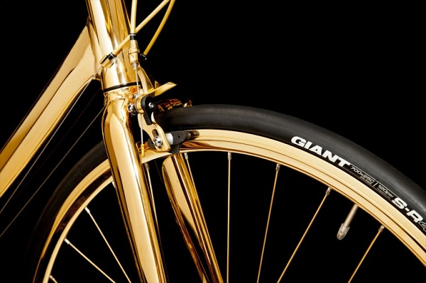 Bicycle-gold-rims