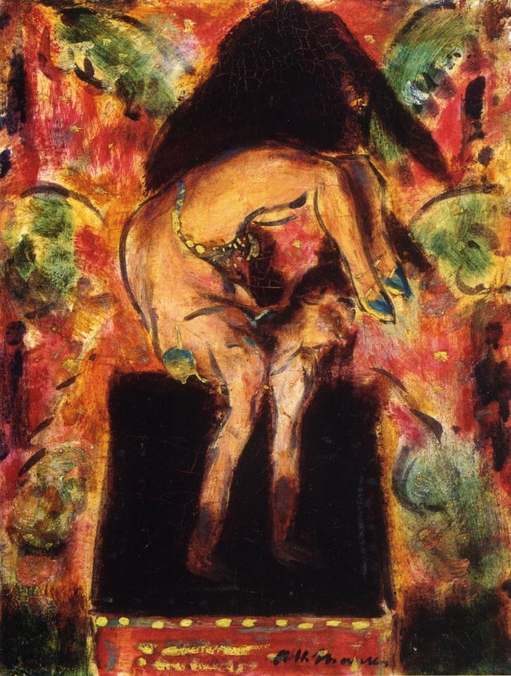 Contortionist-1927-1928-xx-Frederick-R-Weisman-Art-Museum-United-States