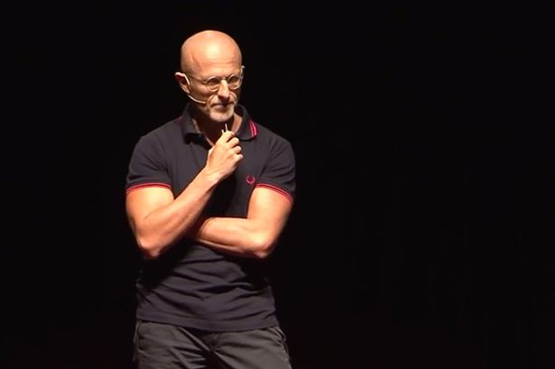 Dr-Sergio-Canavero-during-a-TED-talk