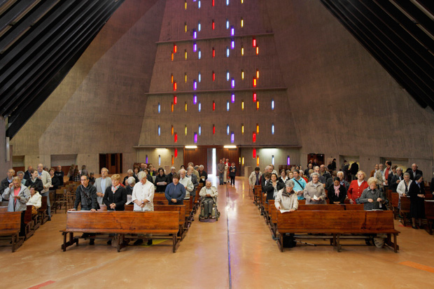 Inside Italy S Modern Catholic Churches By Niccolo