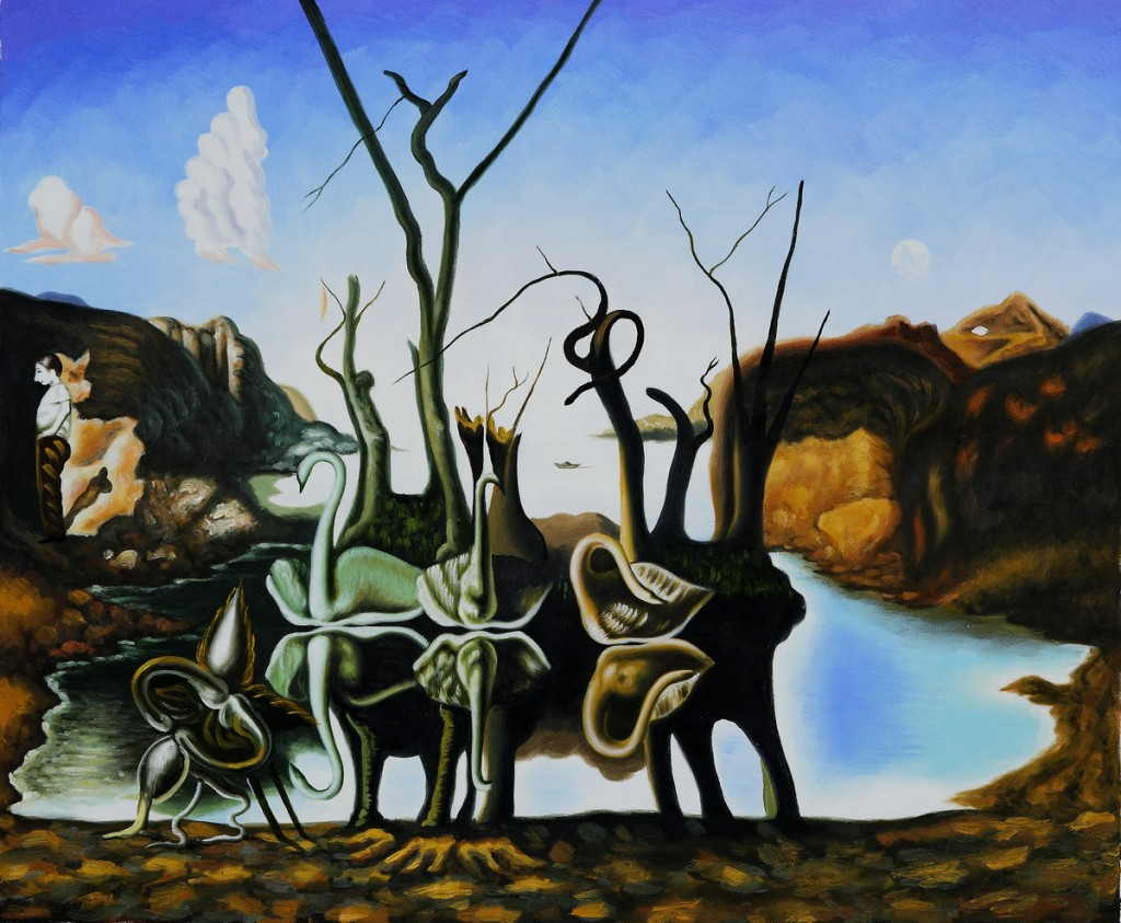 Salvador Dali our Dog on Behance |Salvador Dali Dog Paintings