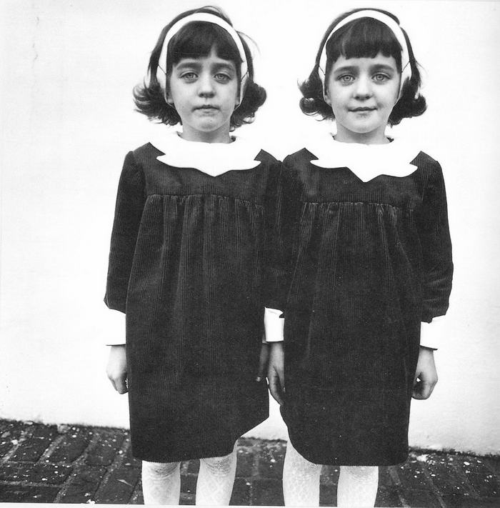 Twins, by Diane Arbus.