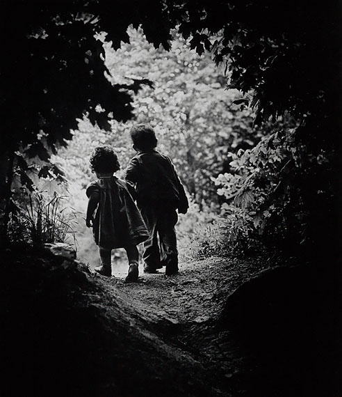 W. Eugene Smith, The Walk to Paradise Garden, oversized silver print, 1946.