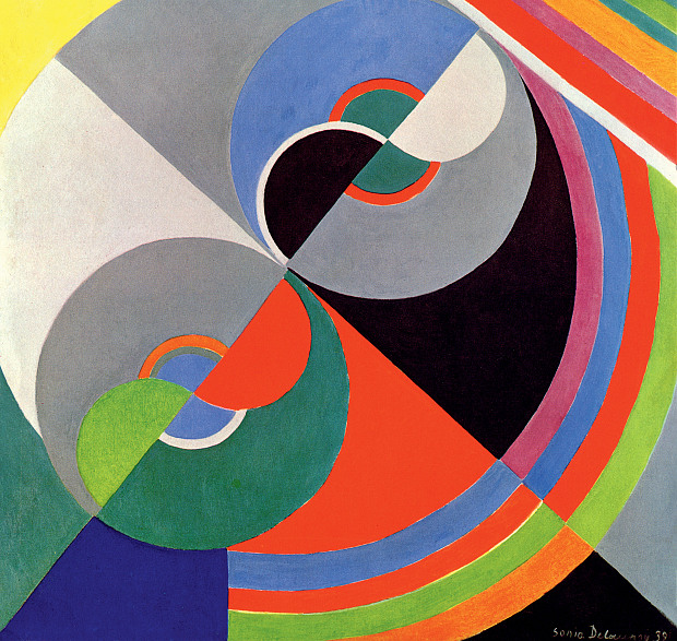 Sonia Delaunay Tate Modern FOR REVIEW ONLY
