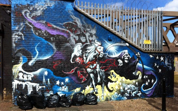 Binky and DEATH, East London