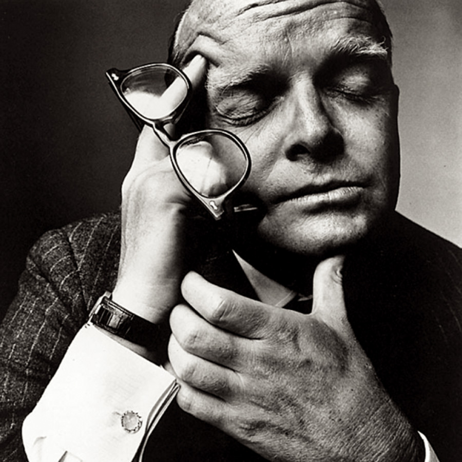Truman Capote, by Irving Penn.
