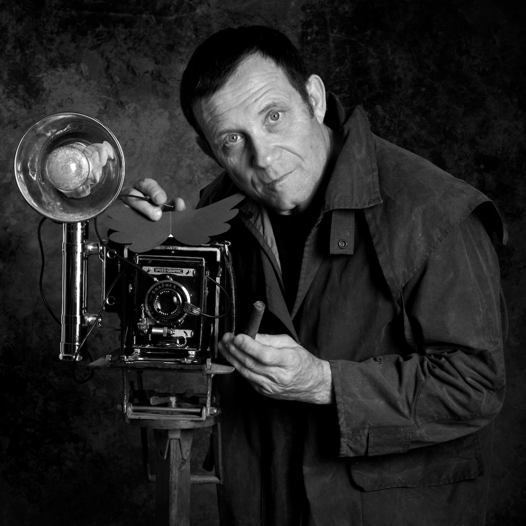 Irving Penn self-portrait.