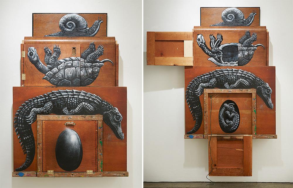 Composition III: Alligatoridae, Testudinidae, Gastropoda