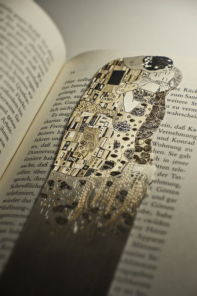 the-kiss-silver-bookmark