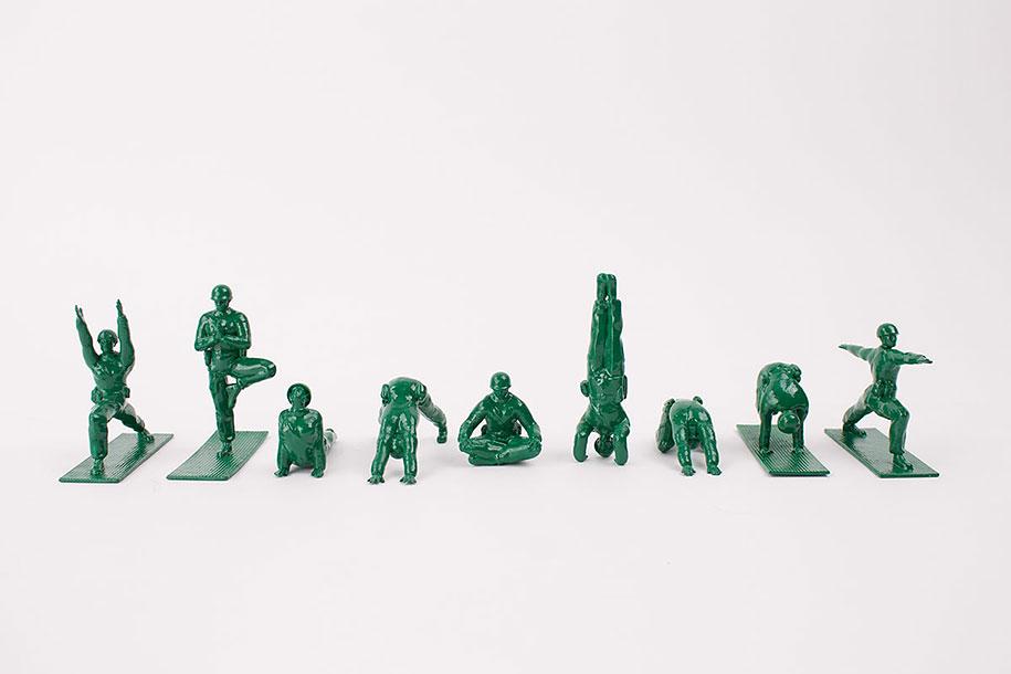 yoga-joes-green-army-figures-dan-abramson-2