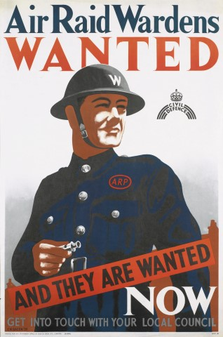 Air Raid Wardens Wanted by Cecil Beaton 013850 ©IWM_tif