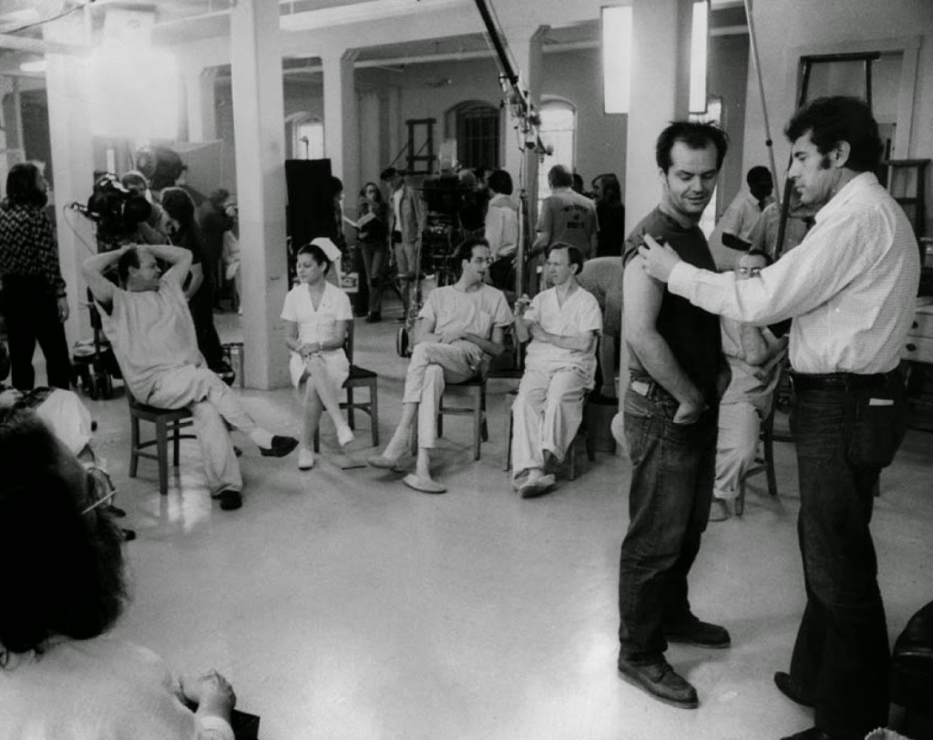 One Flew Over the Cuckoo's Nest - Behind the scenes (4)