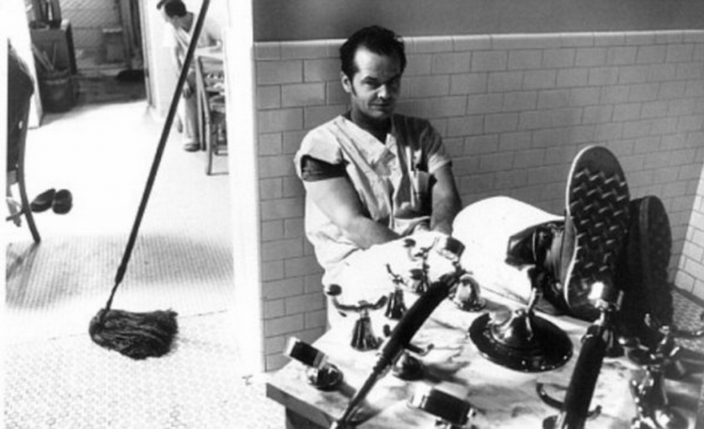 One Flew Over the Cuckoo's Nest - Behind the scenes (6)