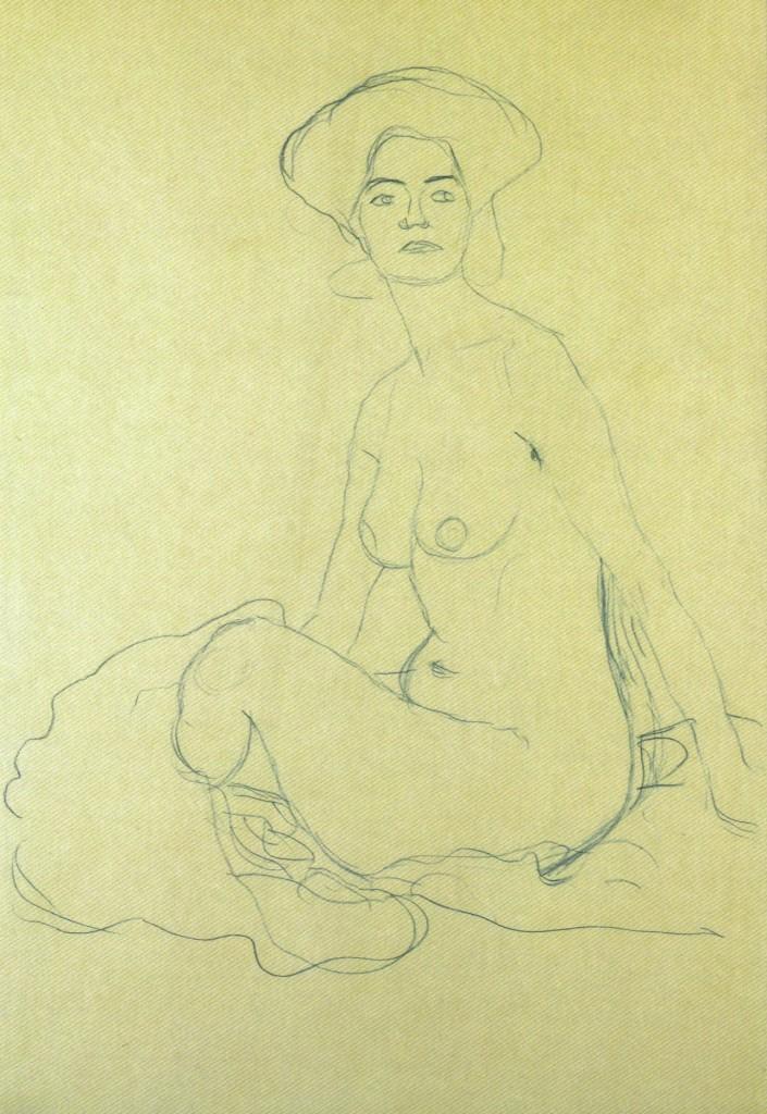 gustav-klimt-sitzender-frauenakt-1907-705x1024