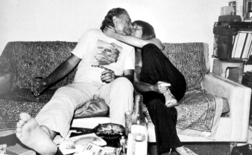 Bukowski and Linda Lee