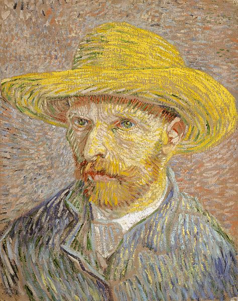 474px-Van_Gogh_Self-Portrait_with_Straw_Hat_1887-Metropolitan