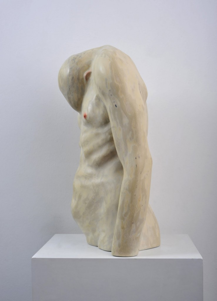 Bogdan-Rata-Shame-polyester-synthetic-resin-fibre-paint-2009-52x36x12-cm-courtesy-Nasui-Gallery