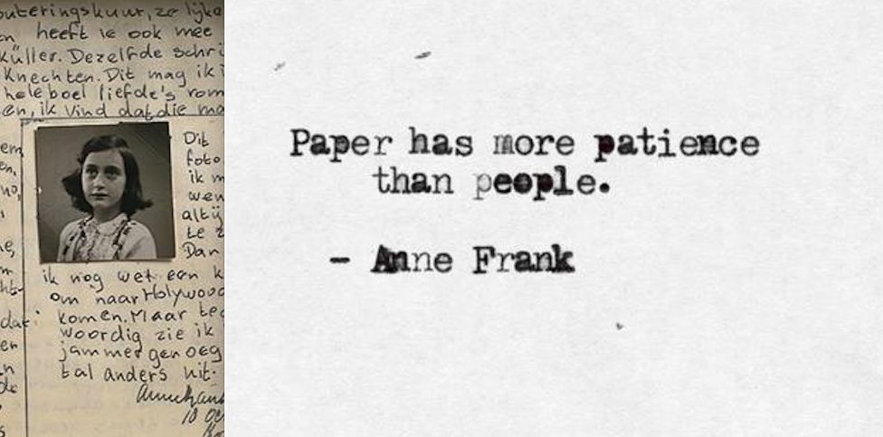Anne Frank Quotes   Quotes And Photos From The Diary Of Anne Frank Art Sheep