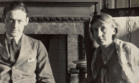 A photograph of TS Eliot and Virginia Woolf taken by Lady Ottoline Morrell. Photograph: National Portrait Gallery/PA