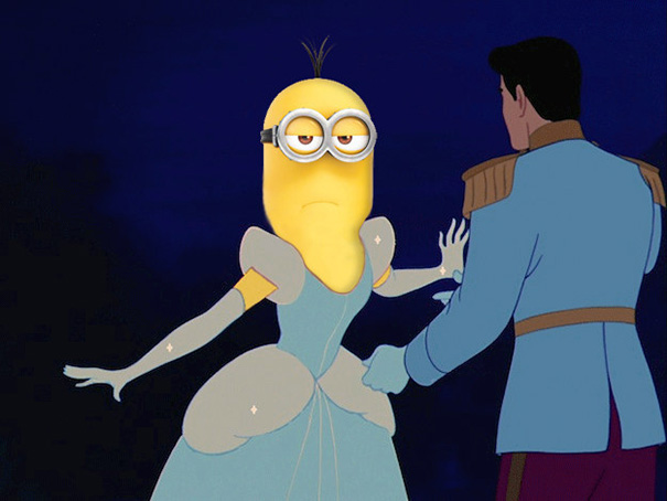 Minions Reimagined As Disney Princesses In A Series Of